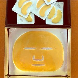 Gold and Diamond Mask Treatment